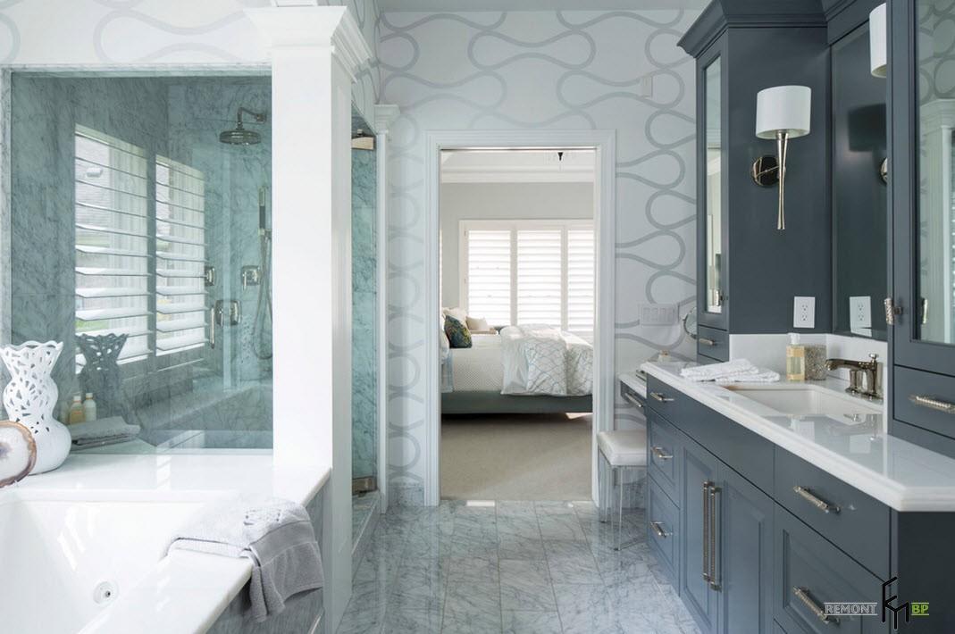 Ванная комната и спальня