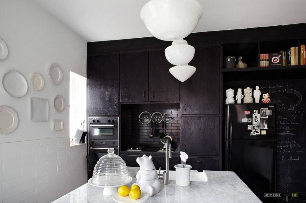 Черная зона в кухне