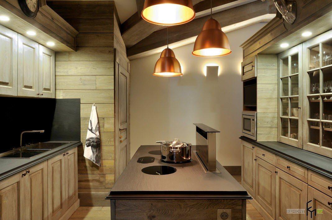 Небольшая модернистская кухня