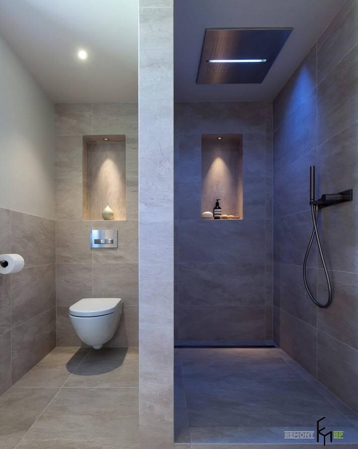 Туалет и душевая