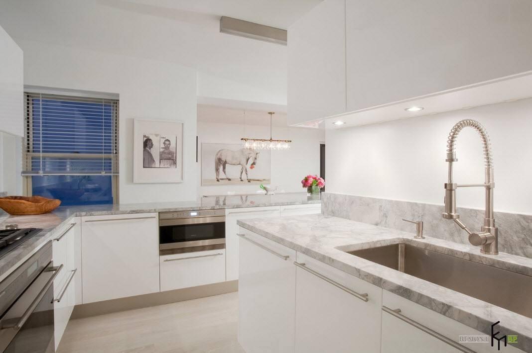 Картины в кухонном помещении