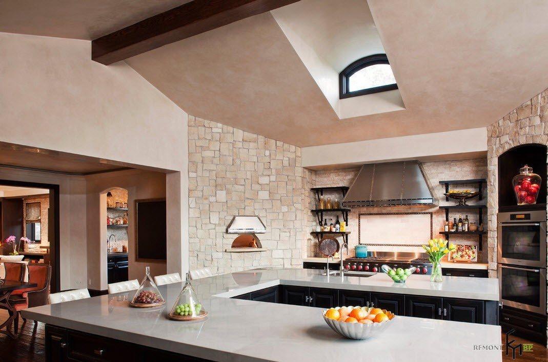 Асимметричная кухня