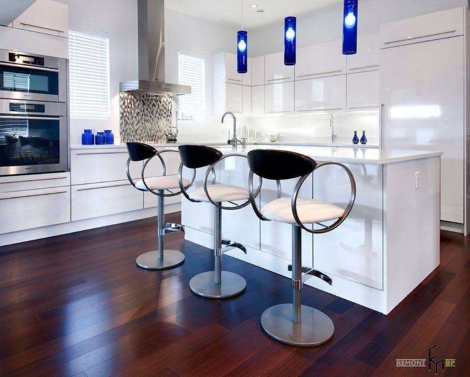 Оригинальный дизайн барных стульев