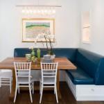 Обеденная зона с кухонным уголком – элегантно и практично