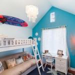 Интересные идеи обустройства детской – выбираем мебель