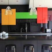 Современное оформление кухонного фартука
