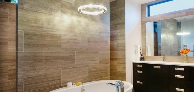 Фото на плитке для ванной