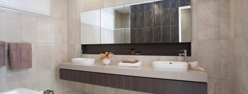 Дизайн зеркала в ванной комнате фото