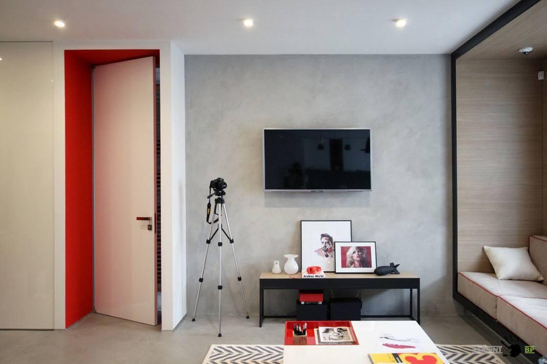 Минимум мебели в современном стиле