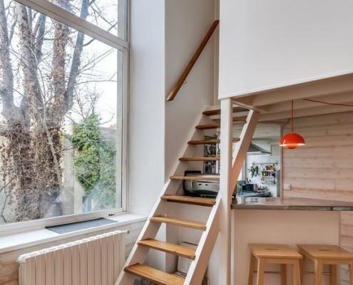 Уютный дизайн проект современной квартиры в Марселе