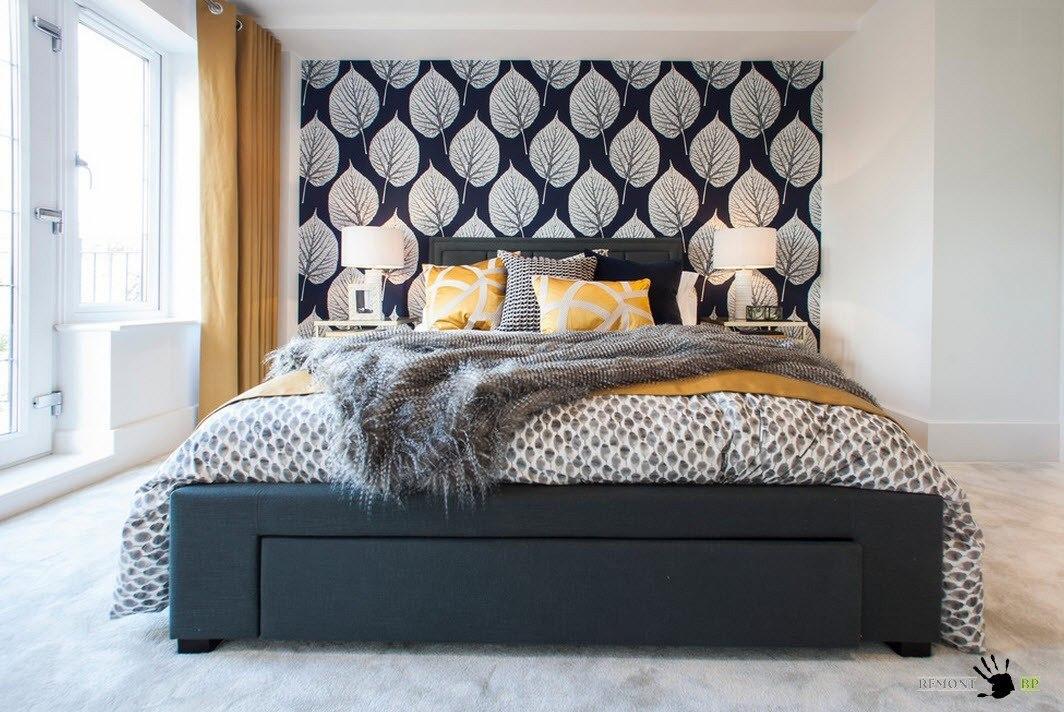 Контрастная спальня