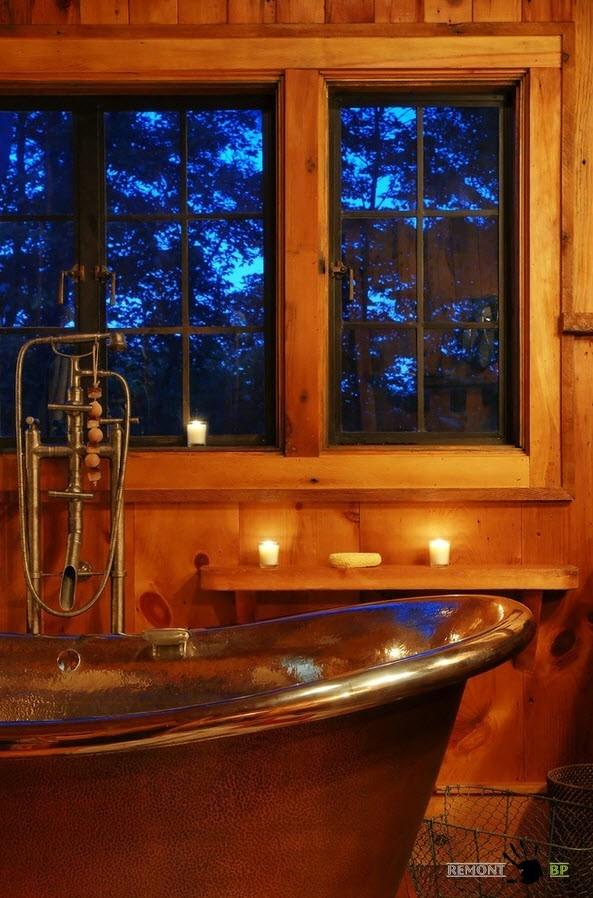 Дизайн-проект деревянного дома у озера: фото внутри и снаружи