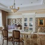 Роскошный дом, оформленный в классическом стиле