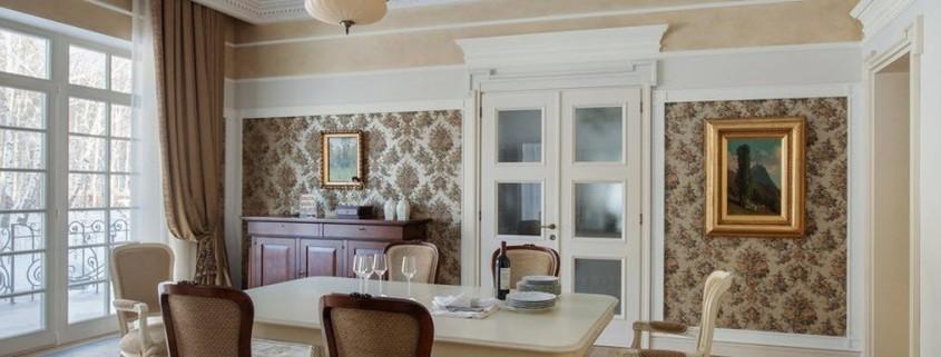 Классический интерьер современного дома