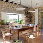 Дизайн-проект испанского дачного домика