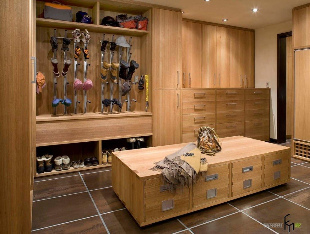 Системы хранения из древесины
