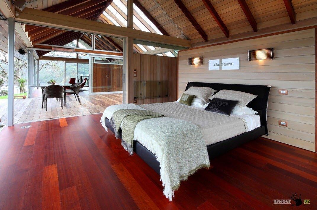 Спальня в натуральных цветах