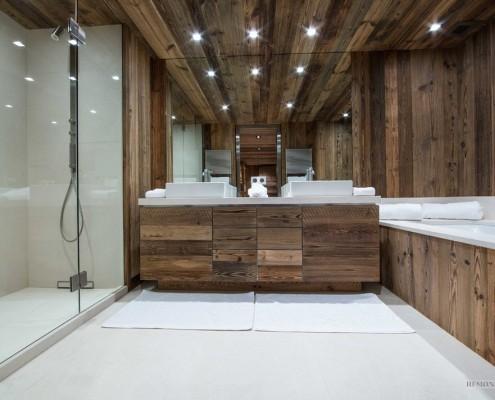 Ванная комната из натуральных материалов
