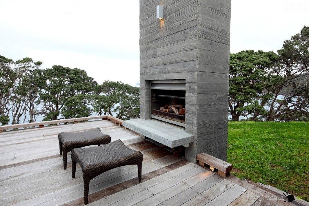 Обустройство деревянной террасы
