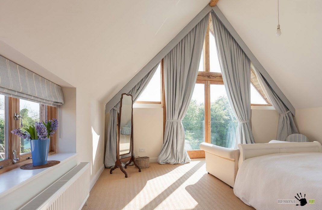 Спальня под сводами
