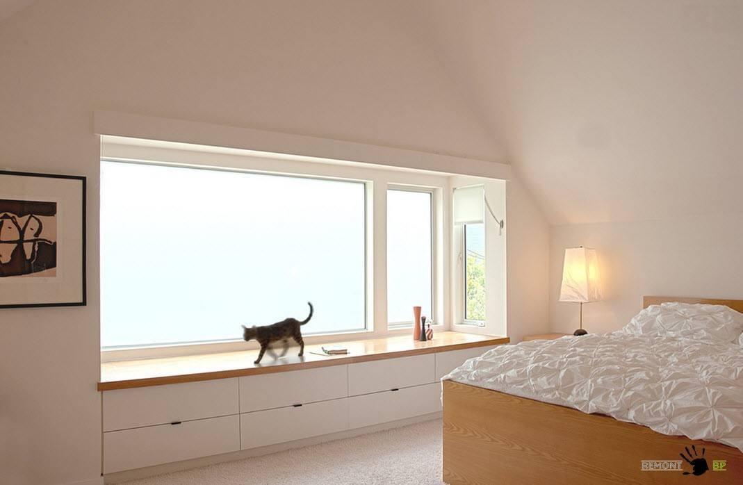 Белоснежное окно