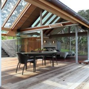 Стеклянный дом в Новой Зеландии