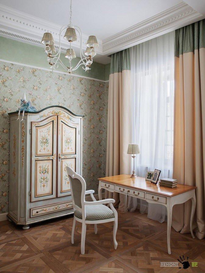Дом оформленный в классическом стиле