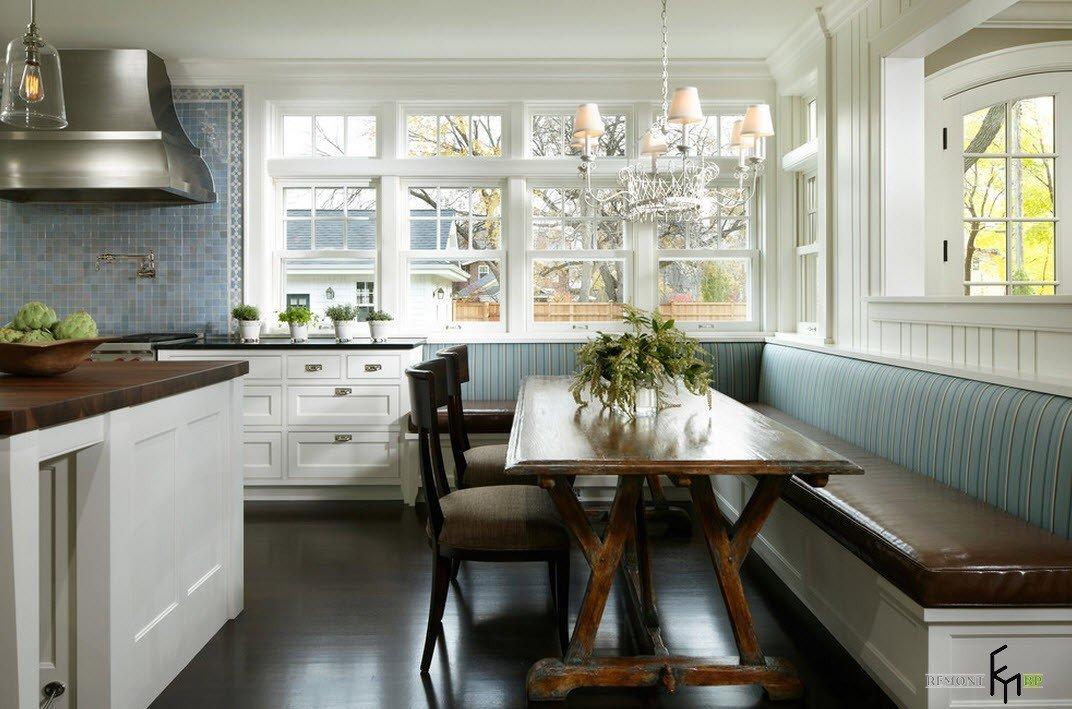 100 лучших идей: кухонный уголок на фото, Красивые диваны и столы