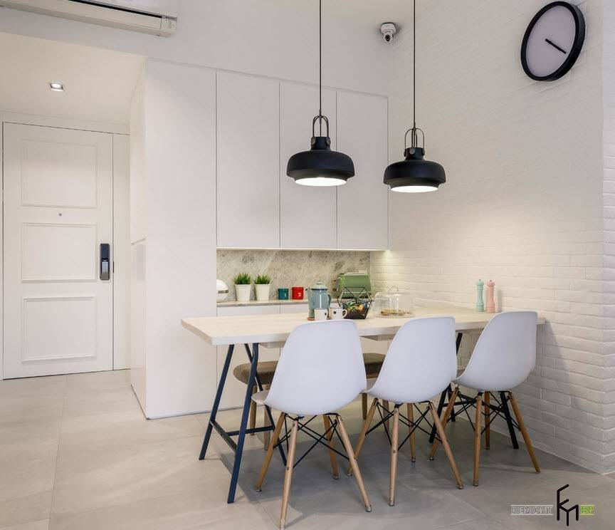 Минимализм на кухне