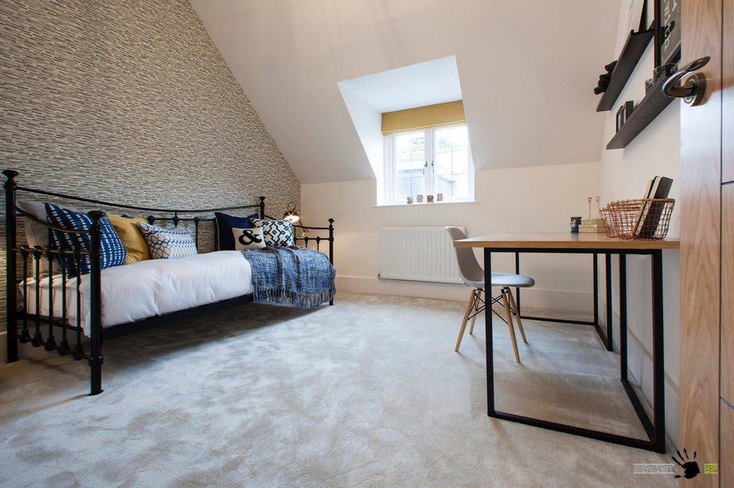 Спальня+кабинет