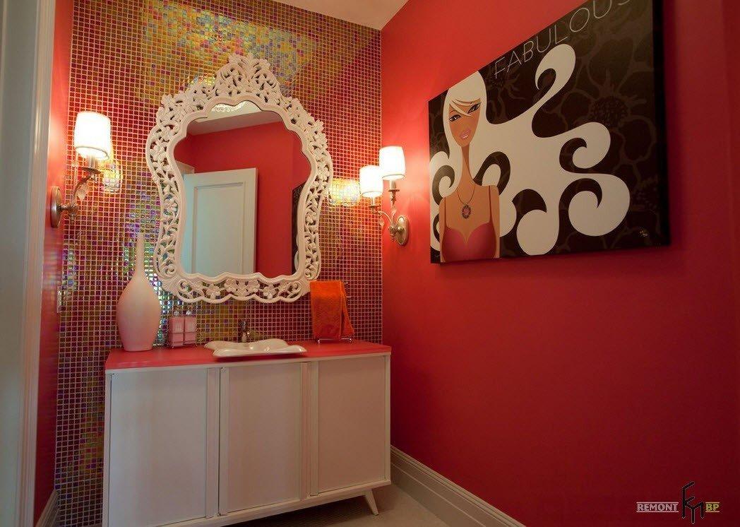 Колоритная ванная комната