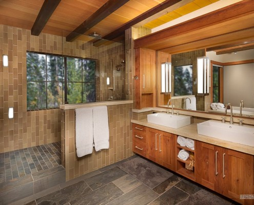 Неповторимый дизайн ванной комнаты