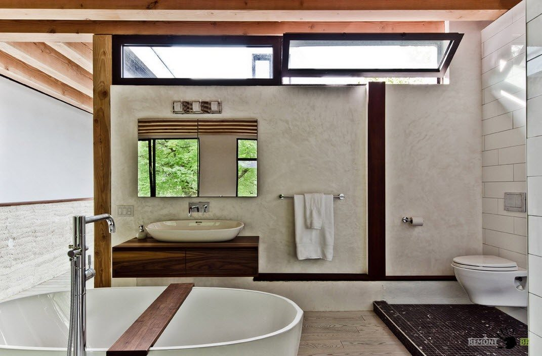 Небольшие окна для ванной