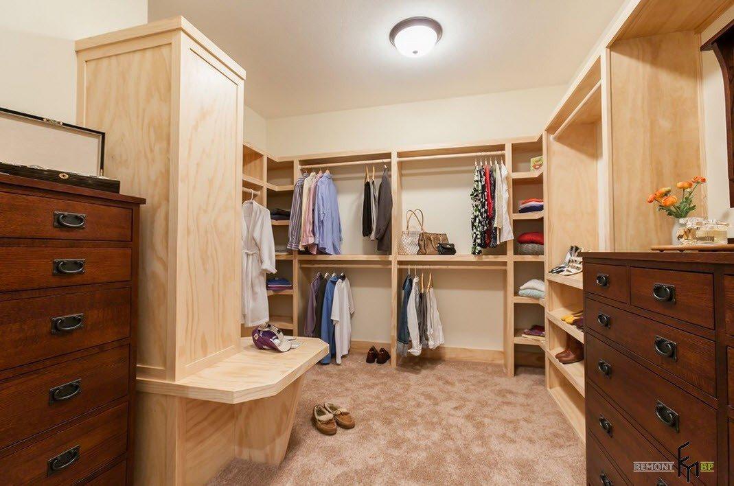 100 лучших идей дизайна гардеробной комнаты на фото