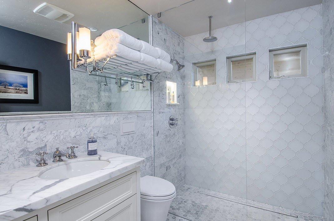 Картинки по запросу Ванная комната - черный цвет и рулонная керамика