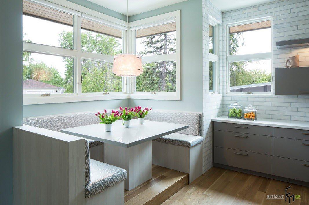 100 лучших идей: кухонный уголок на фото красивые диваны и с.