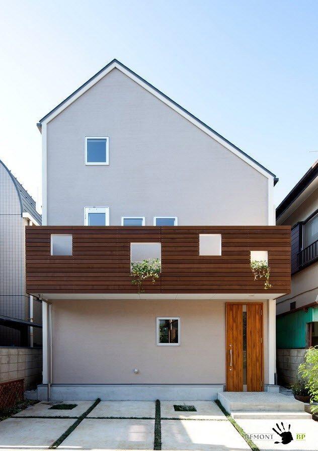 Фасад японского дома