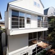 Японский дом в стиле минимализм
