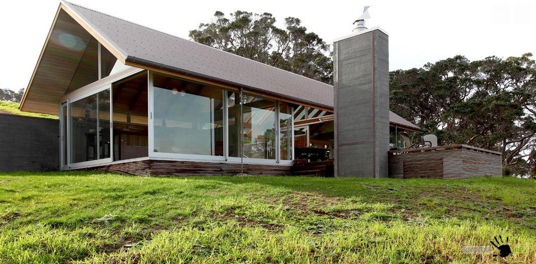 Панорамные окна в строении