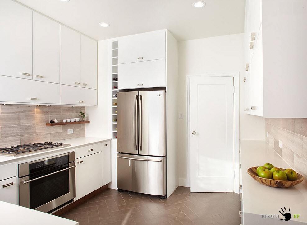Шкафы на кухне оформление