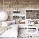 Свежее решение для гостиной – белоснежный интерьер