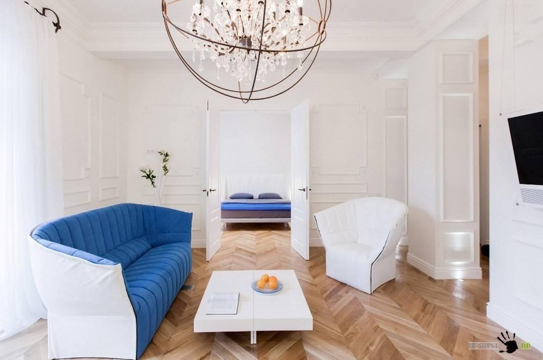 Необычная мягкая мебель для гостиной