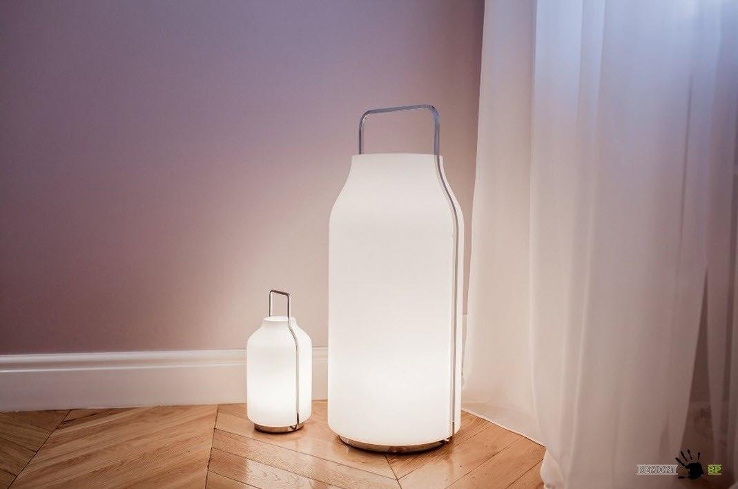 Оригинальные светильники для спальни