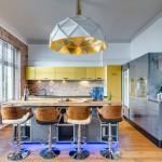 Нетривиальный подход к стилю лофт в оформлении немецкой квартиры