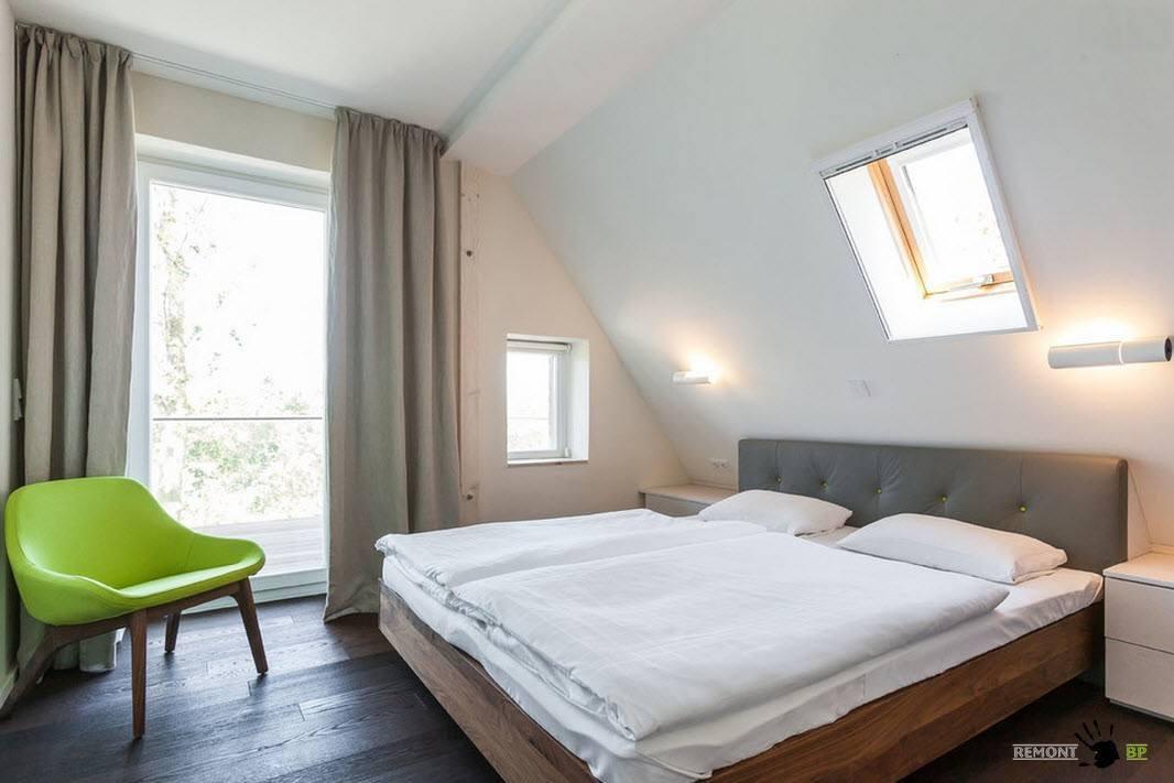 Кровать для аскетичной спальни