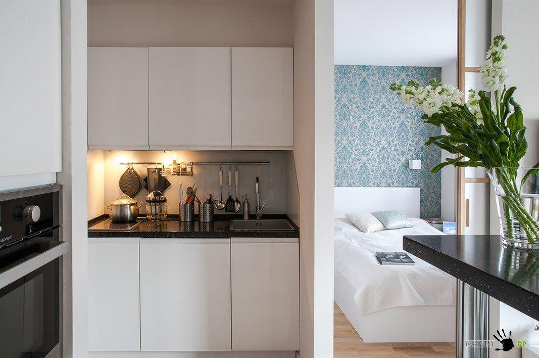 Кухня и спальня