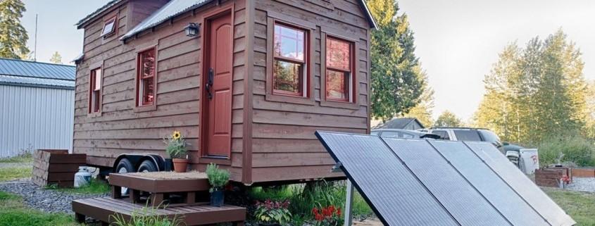Портативный дачный домик