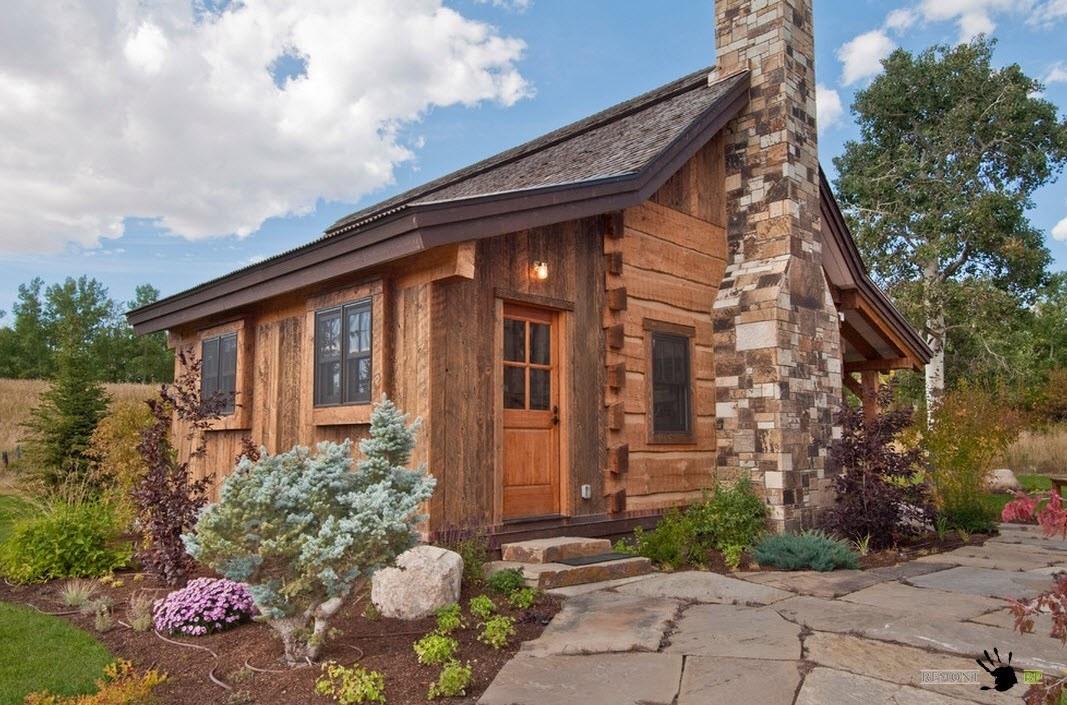 Капитальное деревянное жилище