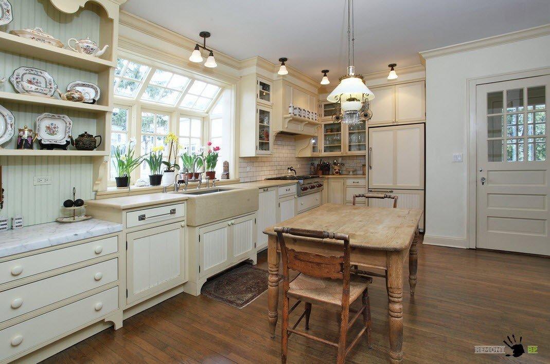 В кухонном помещении