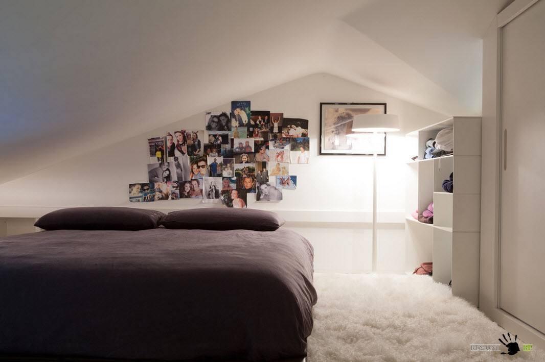 Чердачное помещение для спальни
